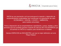 Diapositiva 1 - INICIA