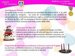 Diapositiva 1 - Colegio Los Campitos