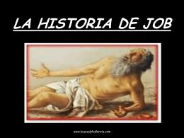 LA HISTORIA DE JOB - Iglesia de Cristo