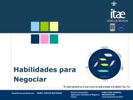 Diapositiva 1 - Itae - Escuela de Negocios