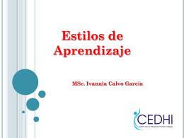 Trastornos del aprendizaje - Centro para el Desarrollo