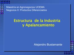 Estructura de la Industria y Apalancamiento