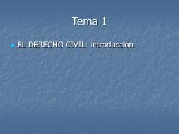 EL DERECHO CIVIL - Derecho Civil para RRLL | madalen