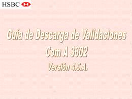 Diapositiva 1 - HSBC ARGENTINA