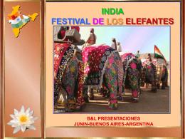 FESTIVAL DE LOS ELEFANTES