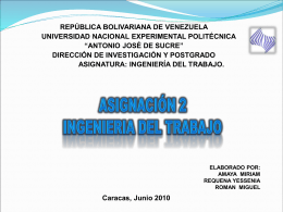 Diapositiva 1 - INGENIERIADELTRABAJO042010