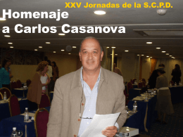 Homenaje a Carlos Casanova