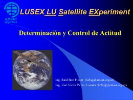 Diapositiva 1 - AMSAT Argentina