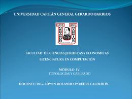 Diapositiva 1 - Universidad Gerardo Barrios | Ing. Edwin