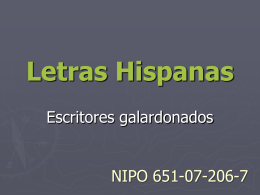 Letras Hispanas