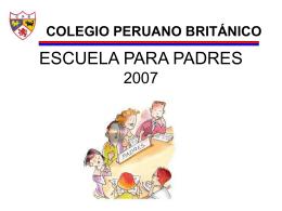 ESCUELA PARA PADRES 2007