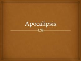 Apocalipsis - Bienvenidos - Iglesia Adventista Alameda