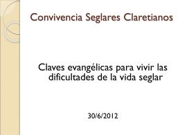 Convivencia Seglares Claretianos