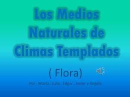 Medios Naturales de Climas Templados