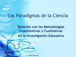 Los Paradigmas de la Ciencia