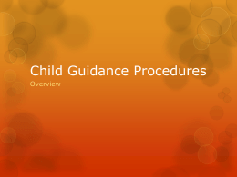 Child Guidance Procedures - South Plains : Home Page