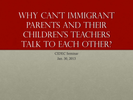 Why can't immigrant parents and their children's …