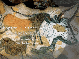 Chapter 2 Stone Ages and Early Cultures