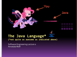 Introduction to Components in Java
