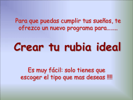 Crea tu rubia ideal - Descargas para WhatsApp,Facebook y