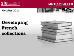 Diapositive 1 - Parkland Regional Library