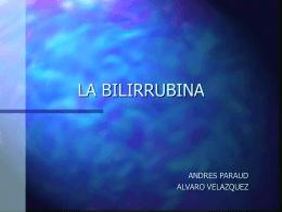 LA BILIRRUBINA