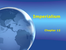 Imperialism - Reading Community Schools