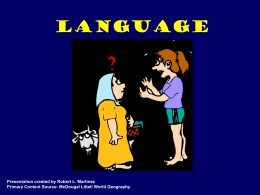 Language - Historymartinez's Blog | Just another …