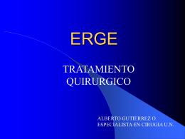 ERGE - Inicio