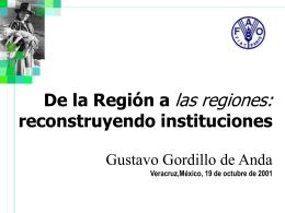 La importancia de las reformas en el sector rural