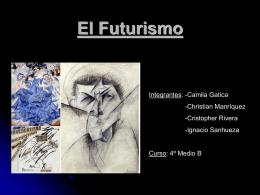 Futurismo - Colegio Teresiano Los Angeles