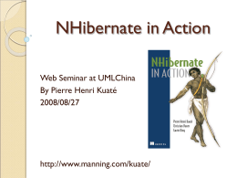 NHibernate in Action - UMLChina-