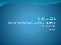 BBL 3221 - Universiti Putra Malaysia