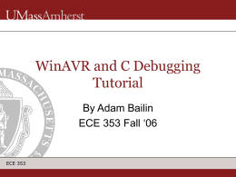 WinAVR and C Debugging Tutorial