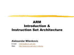 ARM Systems-on-chip