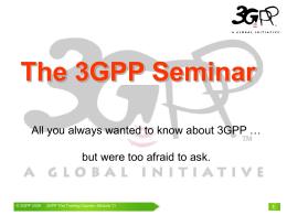 3GPP_TheTrainingCourse_Module_11_draftingRules.pps