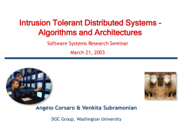 Global State and Agreement in Distributed Systems