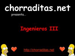 Ingenieros III