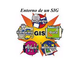 Entorno de un SIG