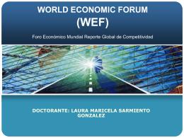 Laura Sarmiento WEF
