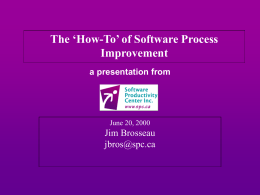 Importance of Process in Software Development