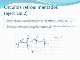Circuitos retroalimentados - electronicaIII-01