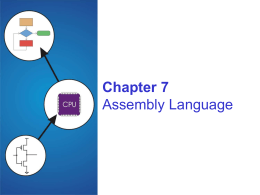 Assembly Language - McGraw