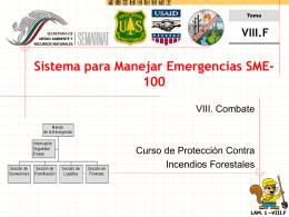 Sistema para Manejar Emergencias SME-100