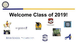 Welcome Class of 2019! - Napa High School