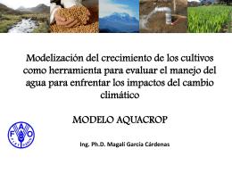 IMPACTO DEL CAMBIO CLIMATICO Y EXPERIENCIAS DE …