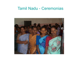 India - Ceremonias