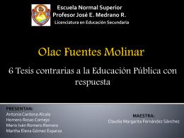 Olac Fuentes Molinar