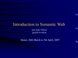Semantic Web Course