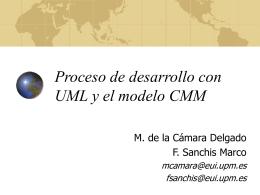 Proceso de desarrollo con UML y el modelo CMM